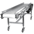 Kamflex Stainless Steel Fabric Belt Conveyor