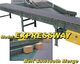 Belt Sawtooth Merge Conveyor
