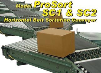 Horizontal Belt Sortation Conveyor